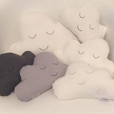 Cloud Cushion, Star Cushion, Ready To Go, Kids Decor, Baby Room, Nursery Decor, Stitching, New Homes, Super Cute