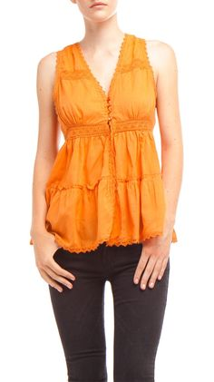 Abigail Blouse >> Beautiful color and lovely details!