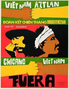 "Malaquías Montoya, ""Vietnam Aztlan"""