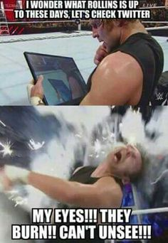 Dean Ambrose ❤ Dean Ambrose Shield, Dean Ambrose Seth Rollins, Roman Reigns Dean Ambrose, Wwe Dean Ambrose, Wrestling Quotes, Wrestling Stars, Raw Wrestling, Wwe Funny, Stupid Funny Memes