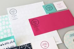 #system love the colors and silhouettes on the letterhead