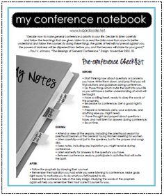 conference notebook tabs