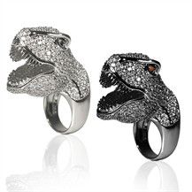 nOir Jewelry - Animal Rings