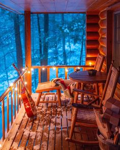 Cold winter air always feels the freshest…. Cold winter air always feels the freshest. Bar Design, Design Studio, House Design, Winter Cabin, Cozy Cabin, Plywood Furniture, Cabin Porches, Country Porches, Country Homes