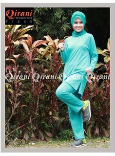 Baju Sport Wanita Qirani Fresh QDF-07 TOSKA