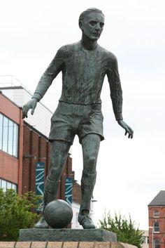 stoke on trent england | Sir Stanley Matthews sculpture, Hanley, Stoke-on-Trent