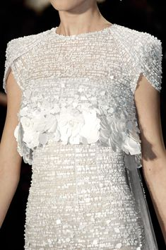 Chanel at Couture Spring 2009 - Details Runway Photos