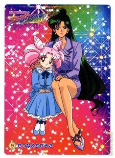 Setsuna and Chibi-Usa