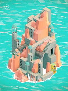 Monument Valley // Finally bought the game. It's a short puzzle game but definitely play this for sound and gameplay experience.
