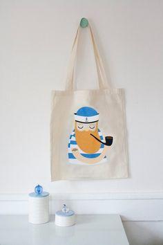 d741d02a55 Gym bag Cat Drawstring backpack Sea Sailor Cats Gymbag Cotton Screen ...