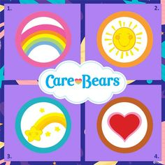 Pin by Care Bears World on Care Bear | Tummy Symbols ...