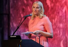 """Today, the Crown Princess Mette Marit attended NORLA (Norwegian Literature Abroad) conference at Sentralen culture center. The Crown Princess was elected as Norway's literature representative for Frankfurt Book Fair (FBF) which is the world's biggest and most important book fair. Norway will take part in Frankfurt Book Fair as a """"guest country"""". As Norway's literature representative, the Crown Princess will attend several events at Frankfurt Book Fair."""