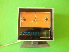 York Clock Radio
