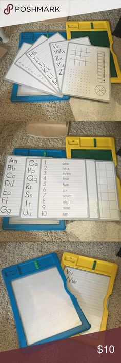 Crayola White Boards Come with different game sheets to help with writing the ABC or numbers, you can even play dots and tic tac toe with a friend crayola Other