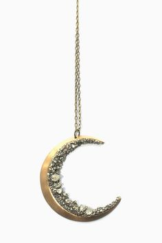 Crescent Moon Necklace - Shadowplay