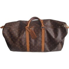 LOUIS VUITTON TRAVEL BAG - KEEPALL 60