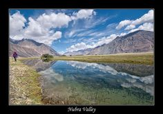 Nubra Valley, Jammu and Kashmir  Situated in the magnificent land of Jammu and Kashmir, the Nubra valley derives its name from the Nubra River which flows through it. The valley is also termed as the 'Valley of Flowers', because of the variety of flowers present here.  For package details of Kashmir Contact: Metro Tours and Travels on 022 42476900 or email us on metro.15august@gmail.com or Log on to www.metrotoursandtravels.com