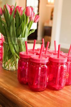 Aladdin mason jars are the perfect party favor that guests can use while they're at the party.