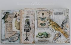 mixed media envelope album part 2