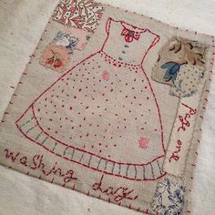 Lovely stitching by Jessie Chorley
