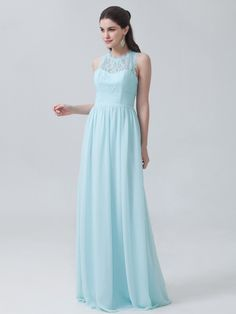 Soft Lace Chiffon Dress