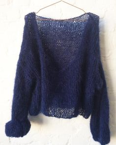 Image of Backless mohair sweater
