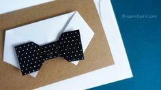 Easy Origami Card for Dad : : Tarjeta fácil para papá