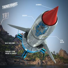 New Thunderbird 1 Components Thunderbird 1, Go Tv, Thunderbirds Are Go, Sci Fi Models, Best Series, Animation, Sci Fi Fantasy, Timeline Photos, Best Shows Ever