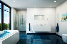 Smukt badeværelses miljø (-; Find billige toiletter på tilbud.