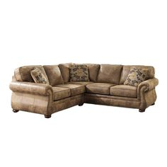 Larkinhurst Earth 2 Piece Sectional  sc 1 st  Pinterest : futura sectional - Sectionals, Sofas & Couches