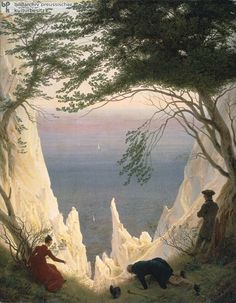 Caspar David Friedrich& Chalk Cliffs on Rügen, 1818 & Oil on canvas cm × 71 cm & Museum Oskar Reinhart am Stadtgarten, Winterthur The post Caspar David Friedrich& Chalk Cliffs on Rüge& appeared first on Beautiful Woman Quotes. Rene Magritte, Winterthur, Caspar David Friedrich Paintings, Casper David, Romanticism Artists, Oil Canvas, Canvas Draw, William Turner, Oil Painting Reproductions