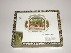 Nice Wooden PaperCovered Cigar Boxes by FunEclecticHF on Etsy, $7.00
