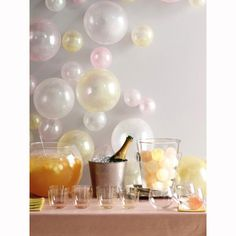 Ballon-Wand