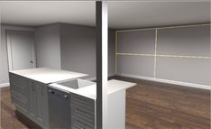 Lockwood Renovation - Kitchen Plans - Living a Real Life Big Kitchen, Kitchen Design, New Zealand Houses, Kitchen Flooring, Tool Design, Dining Area, Cupboard, Real Life, Kitchens