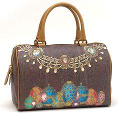 Из Милана с любовью :Ограниченный выпуск: 30 сумок Etro Le Tresors de la Russie — cпециально для Fashion's Night Out 2013