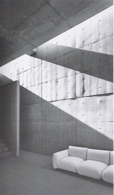 Tadao Ando - Casa Kochino. I really admire this architect for his way of thinking about how light enters a space, but also for his prominent use of concrete within his architecture.