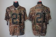a4ed498e7ca Nike Green Bay Packers  21 Charles Woodson Realtree Camo Elite Jersey