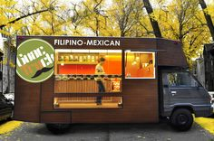 Design focused food truck serving FIlipino-Mexican dishes based in Manila, Philippines