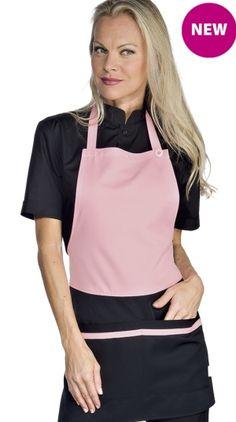 Grembiule Donna Con Pettorina Per Gelateria Panificio Nero+Rosa Coffee Shop, Apron, Unisex, Scream, Shopping, Fashion, Fashion Clothes, Coffee Shops, Moda