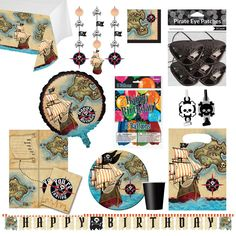 Pirate's Map ZING Combo Pack - 84 items