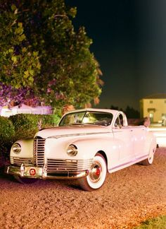 I love vintage cars! I want to rent one or barrow one if someone I know owns one to take pictures with! - at Reverie Magazine!