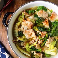 ♡簡単*時短*節約♡豚肉と白菜だけの寄せ鍋風♡【#和風#豚ばら#ヘルシー#鍋】