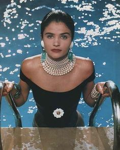 """25 Likes, 2 Comments - FG (@fashion.gladiators) on Instagram: """"1990, Helena Christensen in a classic Chanel ad campaign, photographed by Karl Lagerfeld himself…"""""""