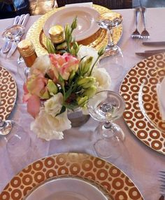 Al Fiume - Table Settings River Place Country Estate