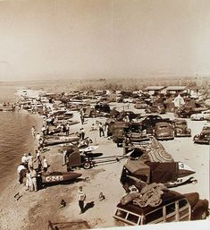 As you can see, the Salton Sea once had plenty of racing-boat action. (Courtesy, Salton Sea History Museum)