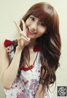 #Yoona #윤아 #ユナ #SNSD #少女時代 #소녀시대 #GirlsGeneration130710 Hair couture