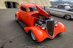 1934 Ford 3 Window Coupe - FastLane Rod Shop Garage #4 - Forged Photography