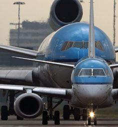 KLM E175 & MD11