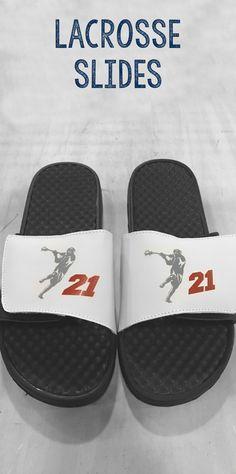 Personalized Lacrosse Slides.