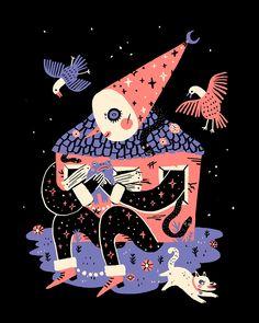 Illustration Sketches, Illustrations And Posters, Graphic Design Illustration, Graphic Art, Dark Gothic Art, Art Haus, Fireworks Festival, Queer Art, Hippie Art